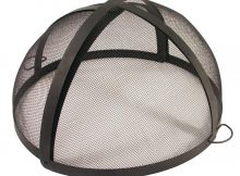 Catalina Creations 40 In Fire Pit Folding Spark Screen Ad6071 The with dimensions 1000 X 1000