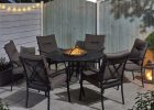 Catalonia Fire Pit And Ice Bucket Dining Set pertaining to size 1500 X 1500