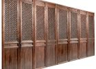Chinese Elm Eight Panel Window Lattice Screen Doors Shanxi Province with proportions 1280 X 1280