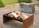 Chunk Welded Steel Fire Pit Magma Firepits Notonthehighstreet with size 900 X 900
