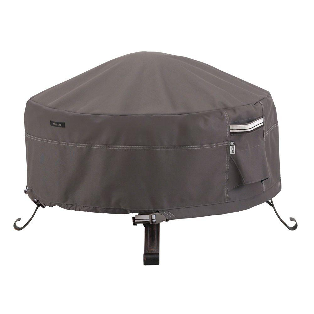 Classic Accessories Ravenna 30 In Round Full Coverage Fire Pit with sizing 1000 X 1000