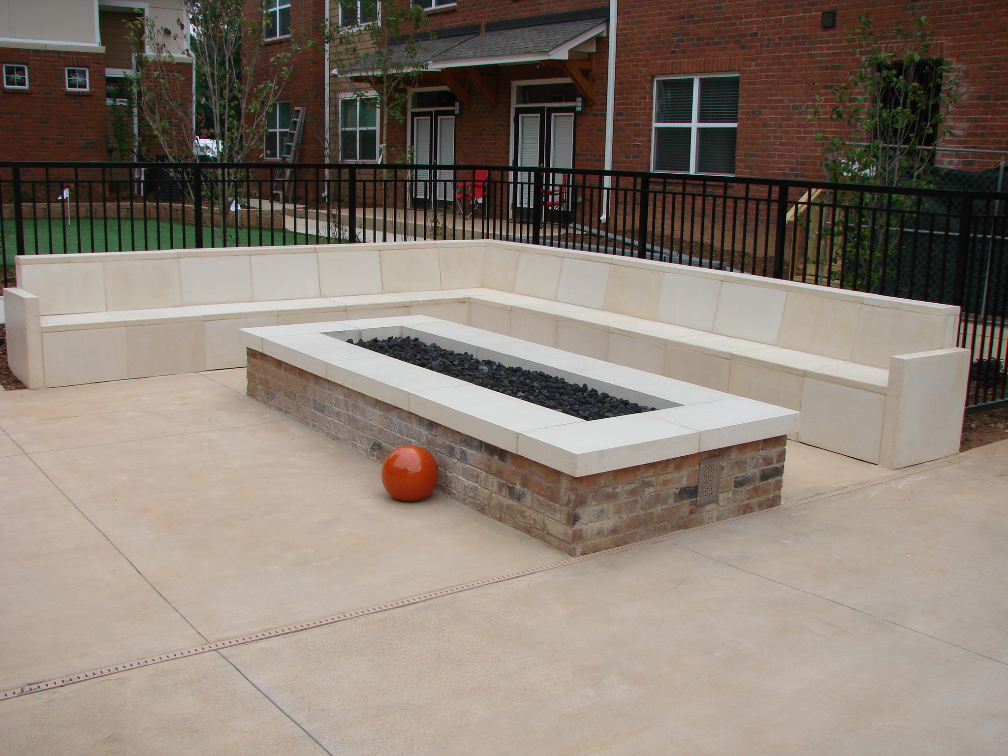 Classic Precast Llc Precast Bench And Fire Pit Cap Image Proview intended for proportions 2048 X 1536