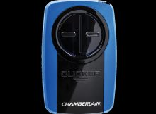 Clicker Universal Blue Garage Door Remote Klik3u Bl2 intended for sizing 1240 X 1240