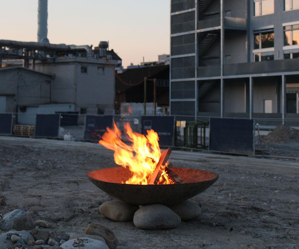 Concrete Fire Bowl 5 Steps with regard to measurements 1024 X 853