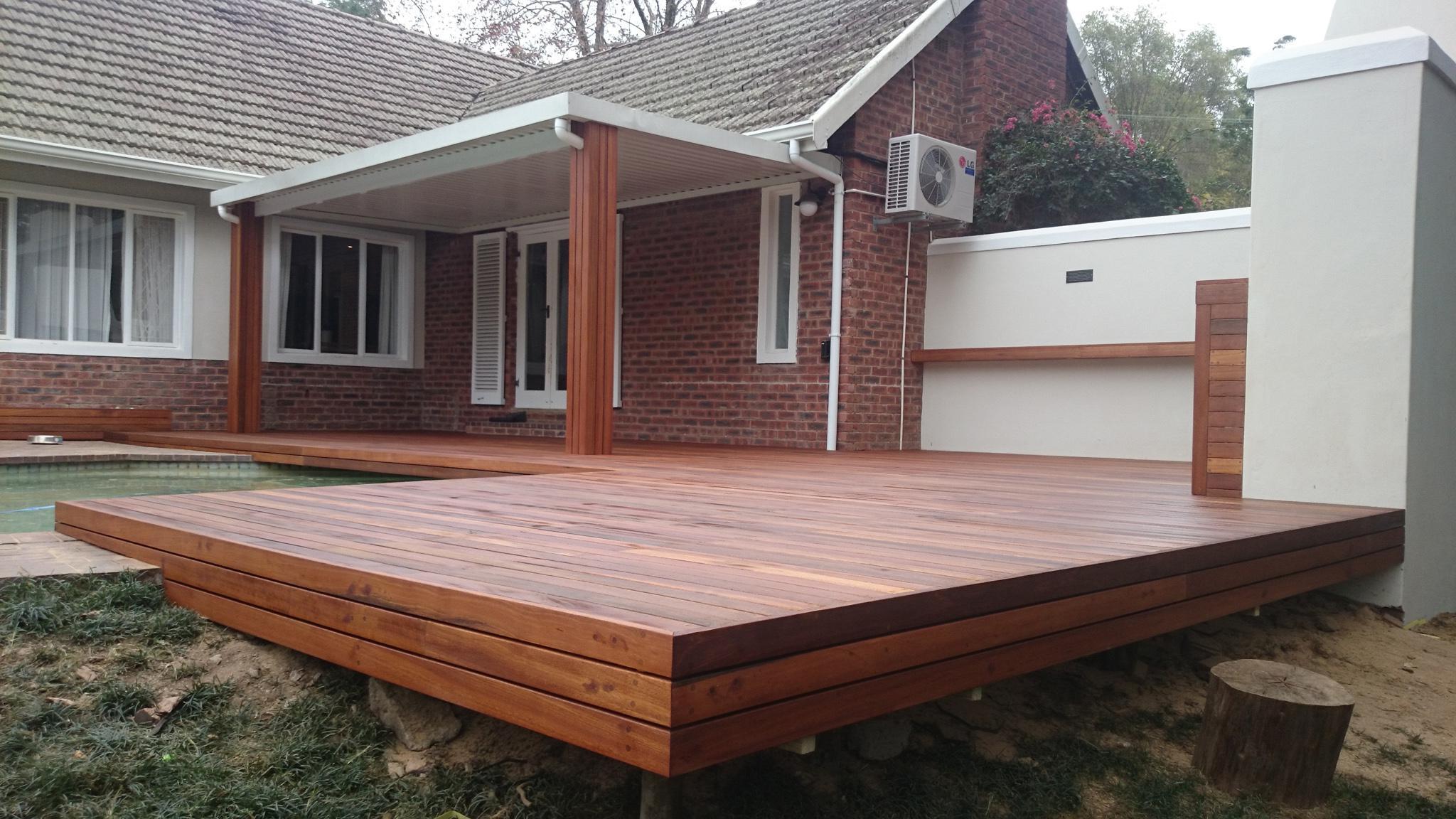 Contemporary Design Wooden Patio Deck Ideas Chocoaddicts Tierra inside sizing 2048 X 1152
