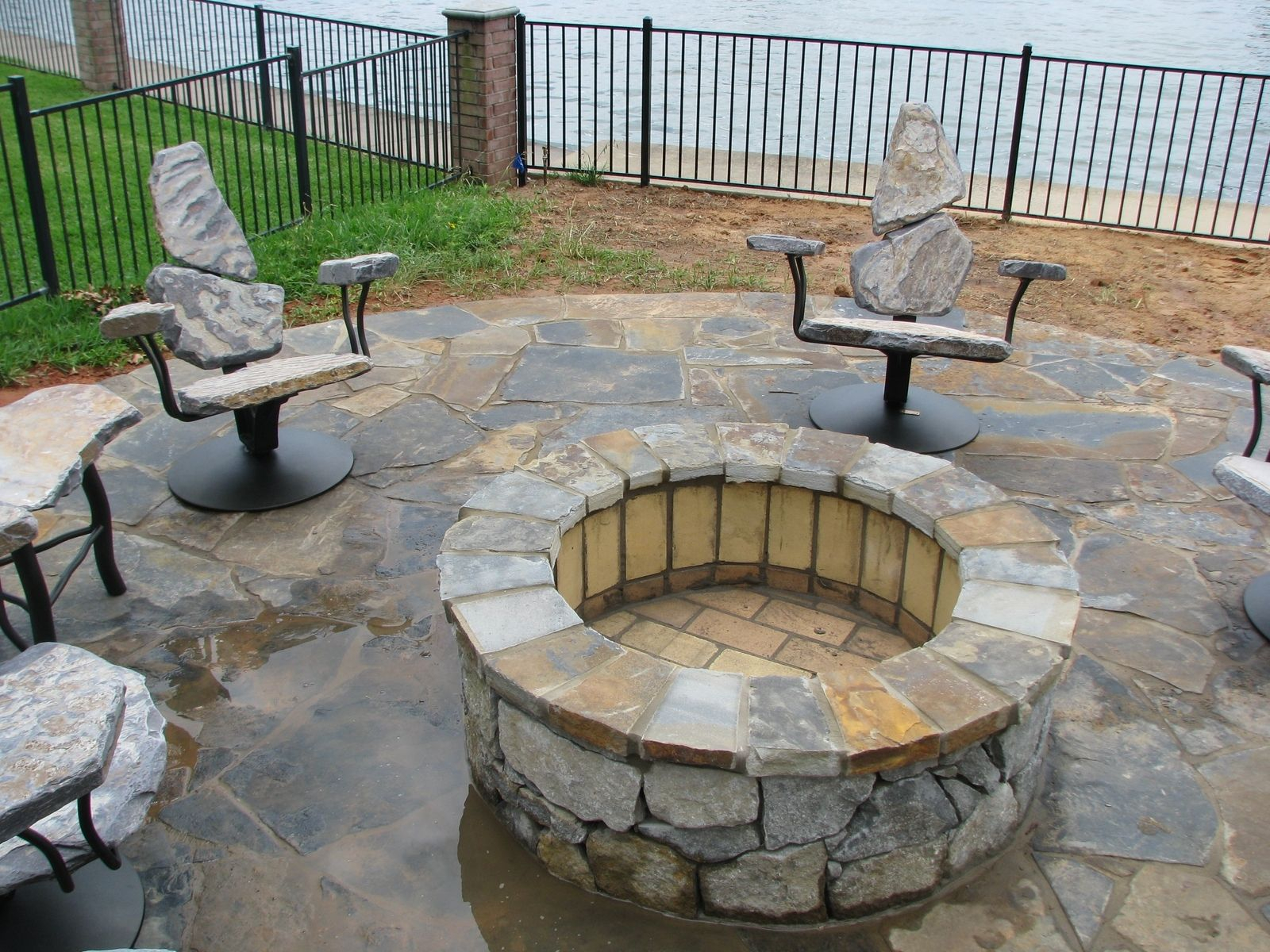 Contemporary Prefab Fire Pit Unusual Fresh Woodburning Firepit Kit within size 1600 X 1200