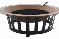 Copper Fire Pit Outdoor Fire Bowl Wood Burning Fire Ring For Patio in proportions 5822 X 3387