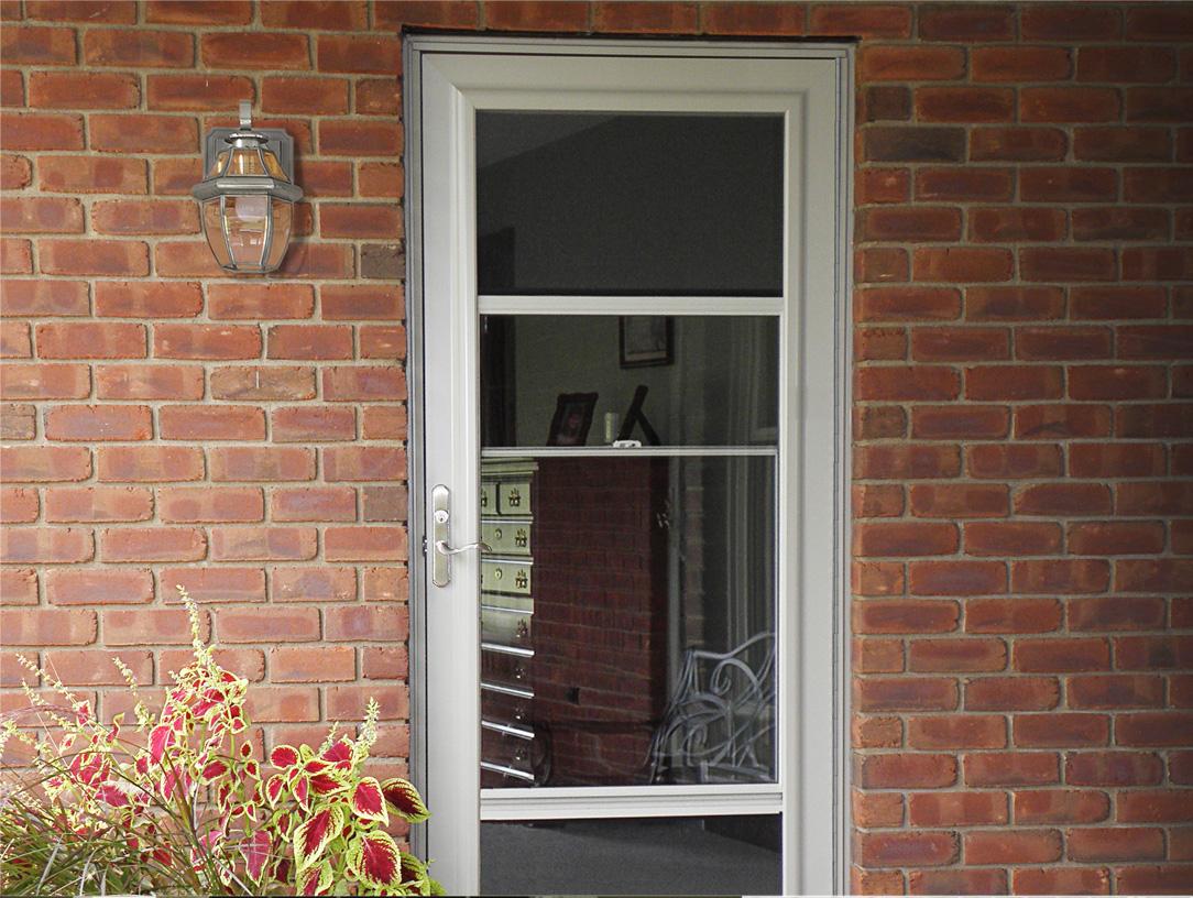 Custom Aluminum Storm Doors Screen Doors Provia for proportions 1084 X 816
