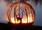 Custom Fire Pit Globes Illuminiez Studios pertaining to size 1262 X 1342