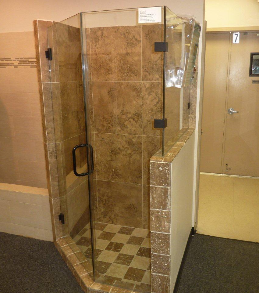 Custom Frameless Glass Shower Doors Frameless Glass Shower Door for size 850 X 960