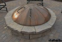 Custom Made Metal Fire Pit Cover Need Snuffer Lid For Fire Pit When inside size 1154 X 769