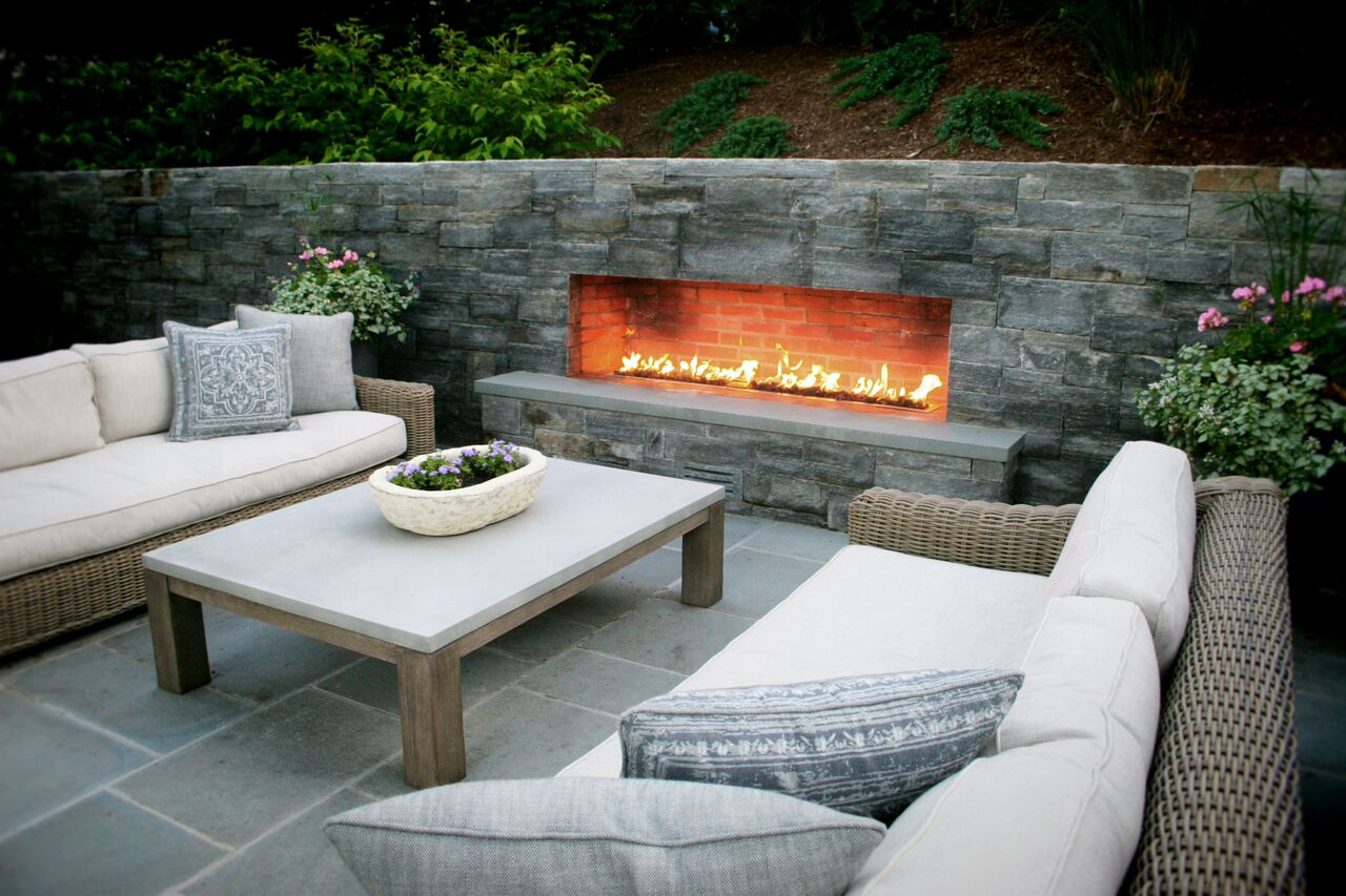Custom Outdoor Fire Pits In Connecticut Custom Outdoor Fireplace Ct with measurements 1280 X 853