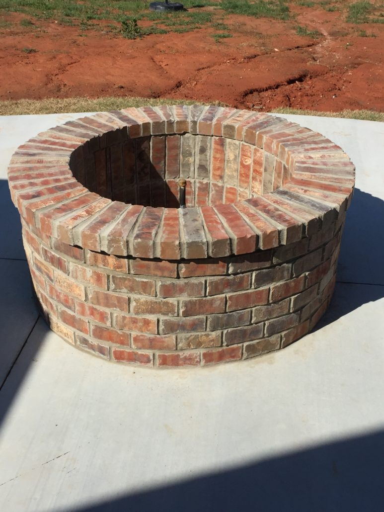 Custom Wood Burning Or Gas Fire Pits with regard to proportions 773 X 1030