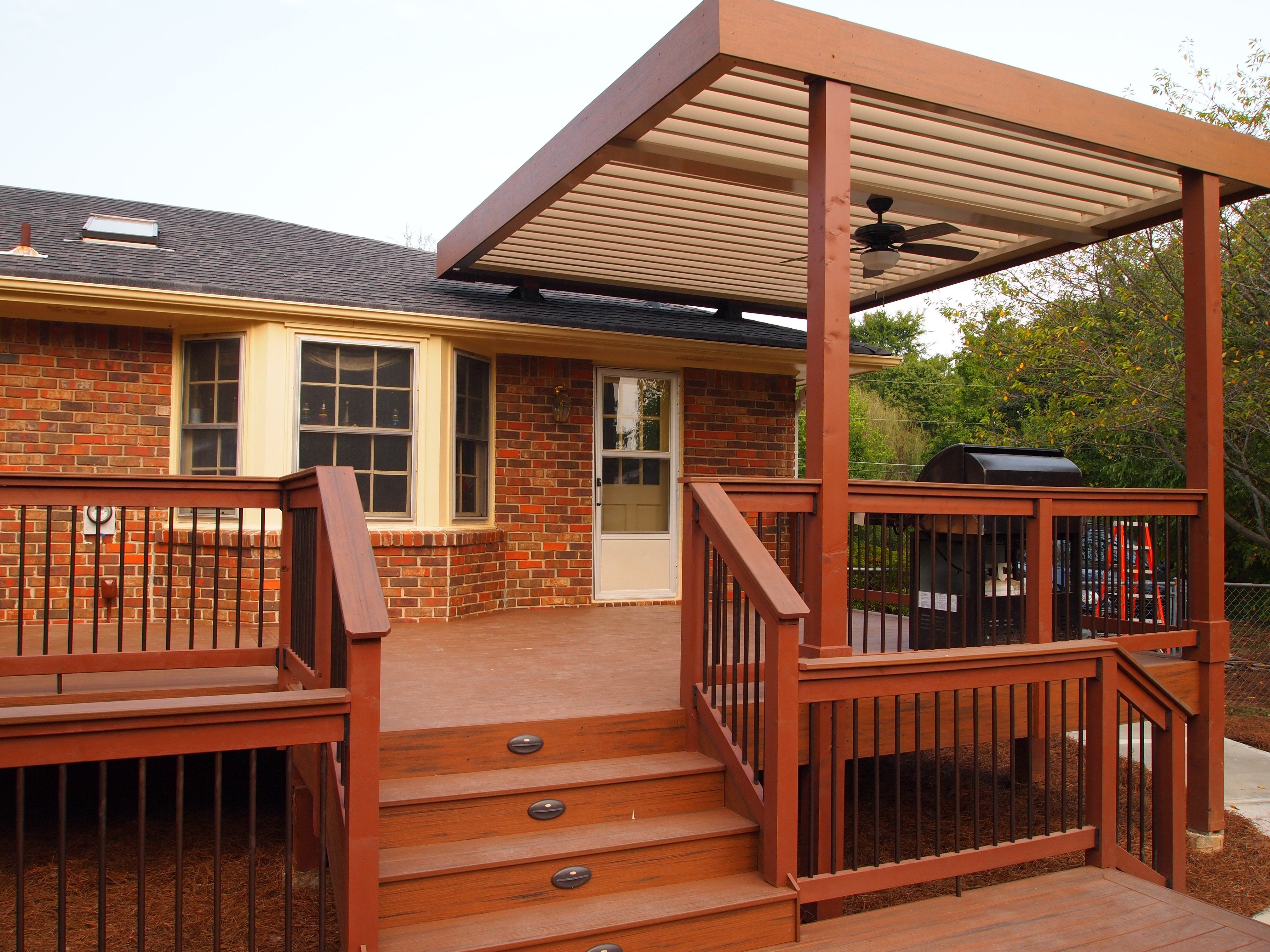 Deck Arbor Pavilions Gazebos Adjustable Patio Covers Outdoor with regard to size 4032 X 3024