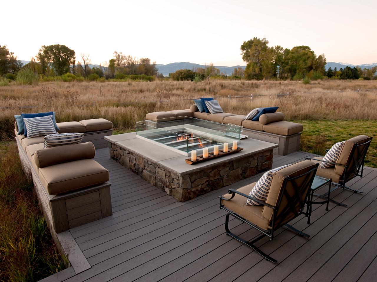 Decks With Gas Fire Pit Decks Ideas inside size 1280 X 960