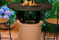 Del Mar Fire Pit Table inside measurements 1500 X 1500