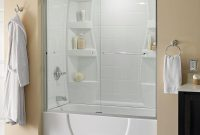 Delta Simplicity 60 In X 58 18 In Semi Frameless Traditional within dimensions 1000 X 1000