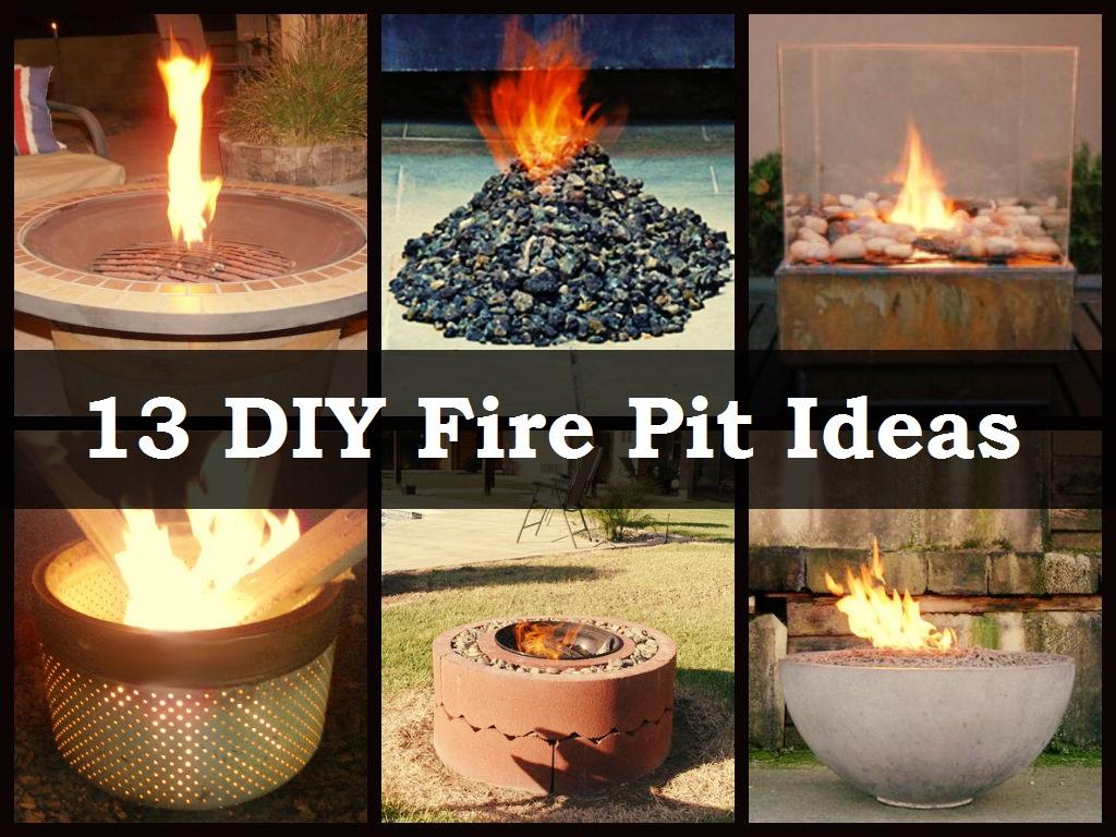 Diy Fire Pit Ideas Diycraftsguru pertaining to proportions 1024 X 768