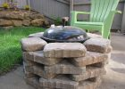 Diy Fire Pit We Placed Stone Around Our Simple Weber Grill To Create for dimensions 4320 X 3240