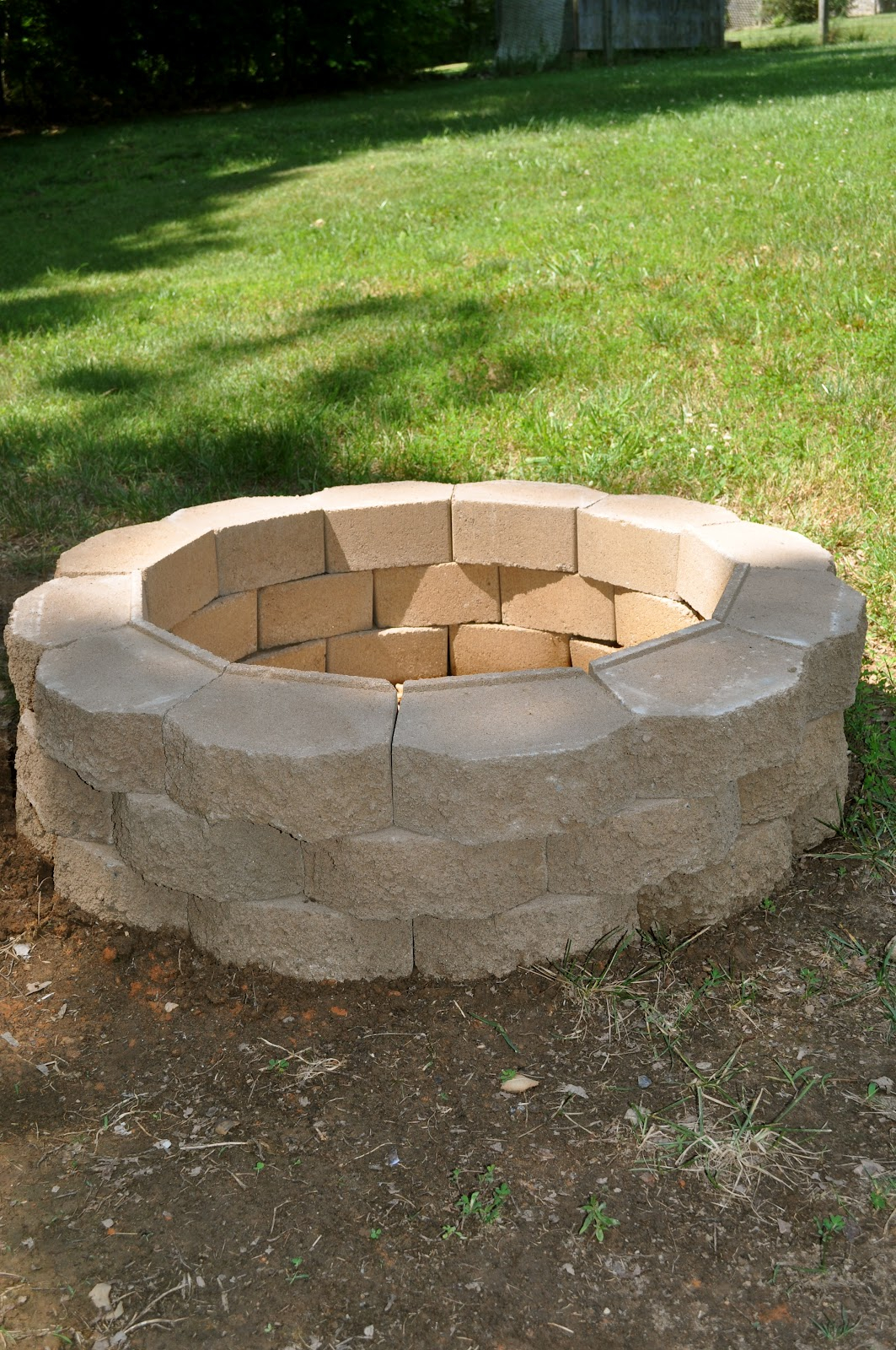 Diy Outdoor Brick Fire Pit Fireplace Design Ideas in dimensions 1063 X 1600