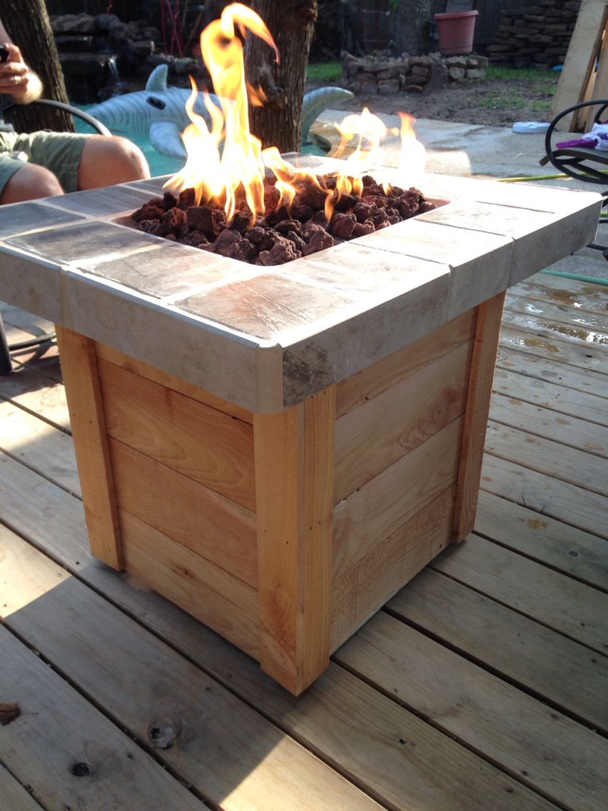 Diy Propane Fire Pit My Weekend Projects Diy Propane Fire Pit in dimensions 852 X 1136