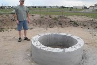 Diy Round Brick Fire Pit Fire Pit Concrete Fire Pits Fire Pit for sizing 1024 X 768