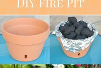Diy Tabletop Terra Cotta Fire Pit Somewhat Simple Creative Team for dimensions 700 X 1400