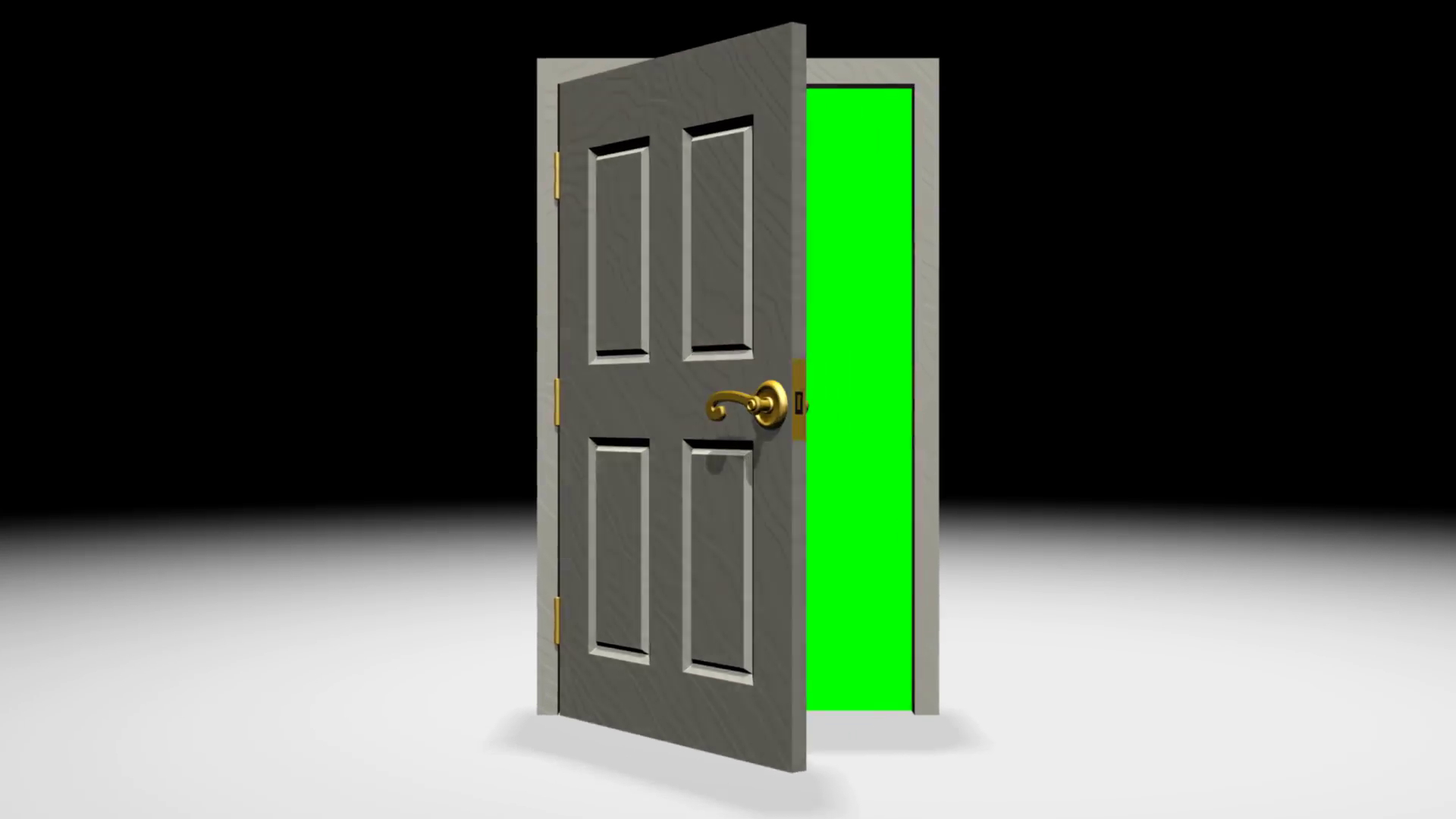 Door Opening Green Screen Transition 3d Motion Background intended for dimensions 1920 X 1080