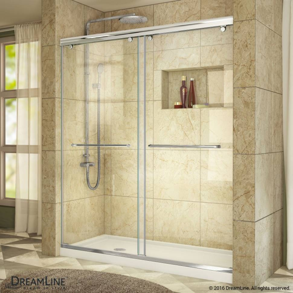 Dreamline Charisma 60 X 76 Pass Semi Frameless Shower Door With in proportions 970 X 970