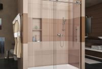 Dreamline Enigma X 56 To 60 In X 76 In Frameless Sliding Shower with measurements 1000 X 1000