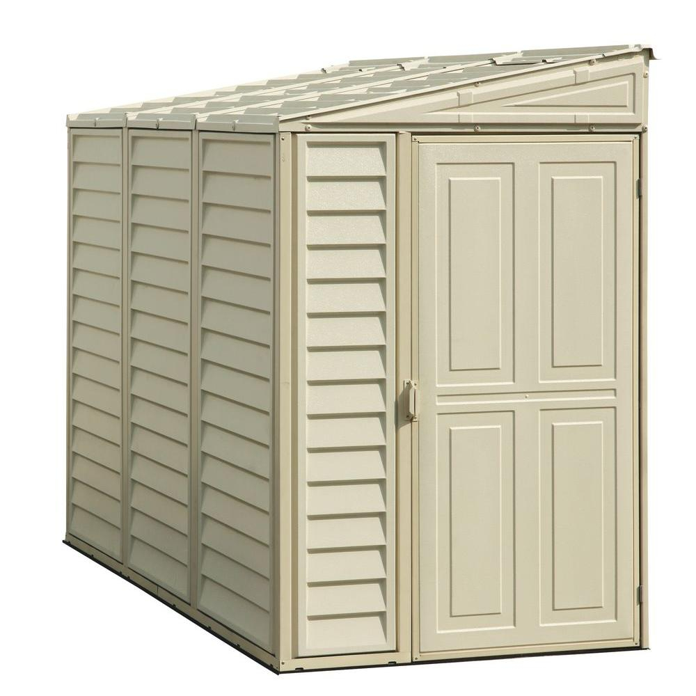 Duramax Building Products Sidemate 4 Ft X 8 Ft Vinyl Shed With with regard to sizing 1000 X 1000