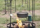Dutch Oven Set Up In The Back Yard House Ideas Fire Cooking throughout proportions 1005 X 1200