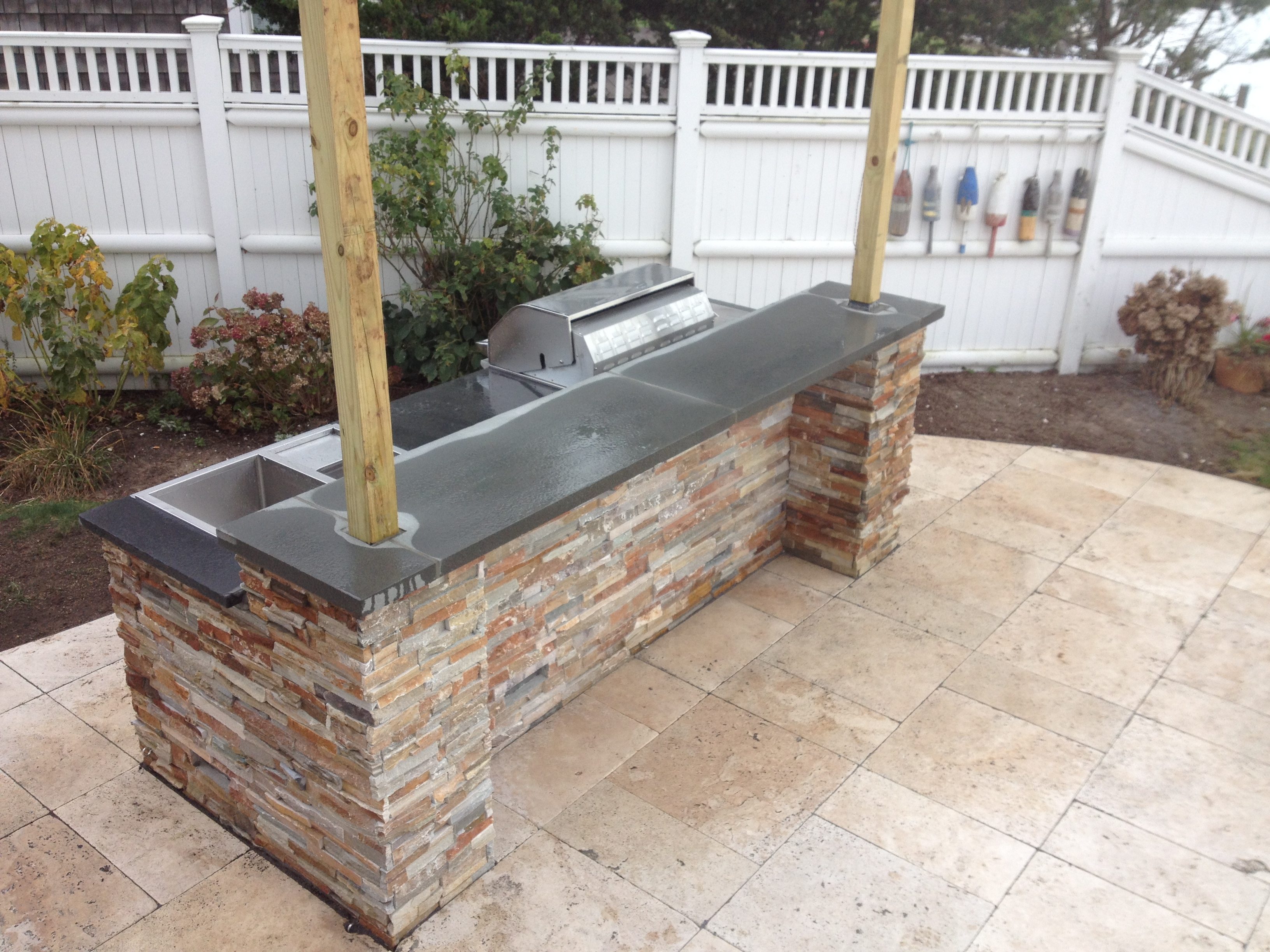 Earthworks Cape Cod Firepits Fireplaces Hardscape Service pertaining to size 3264 X 2448
