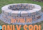 Easy Diy Fire Pit For Only 80 From Menards Diy In 2019 throughout measurements 1600 X 1600