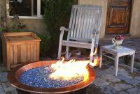 Electric Blue Reflective Crystal Diamond Fire Pit Glass Fire Pit inside proportions 968 X 1296