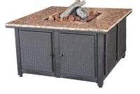 Endless Summer 413 In X 224 In Square Granite Mantle Propane Gas regarding sizing 1000 X 1000