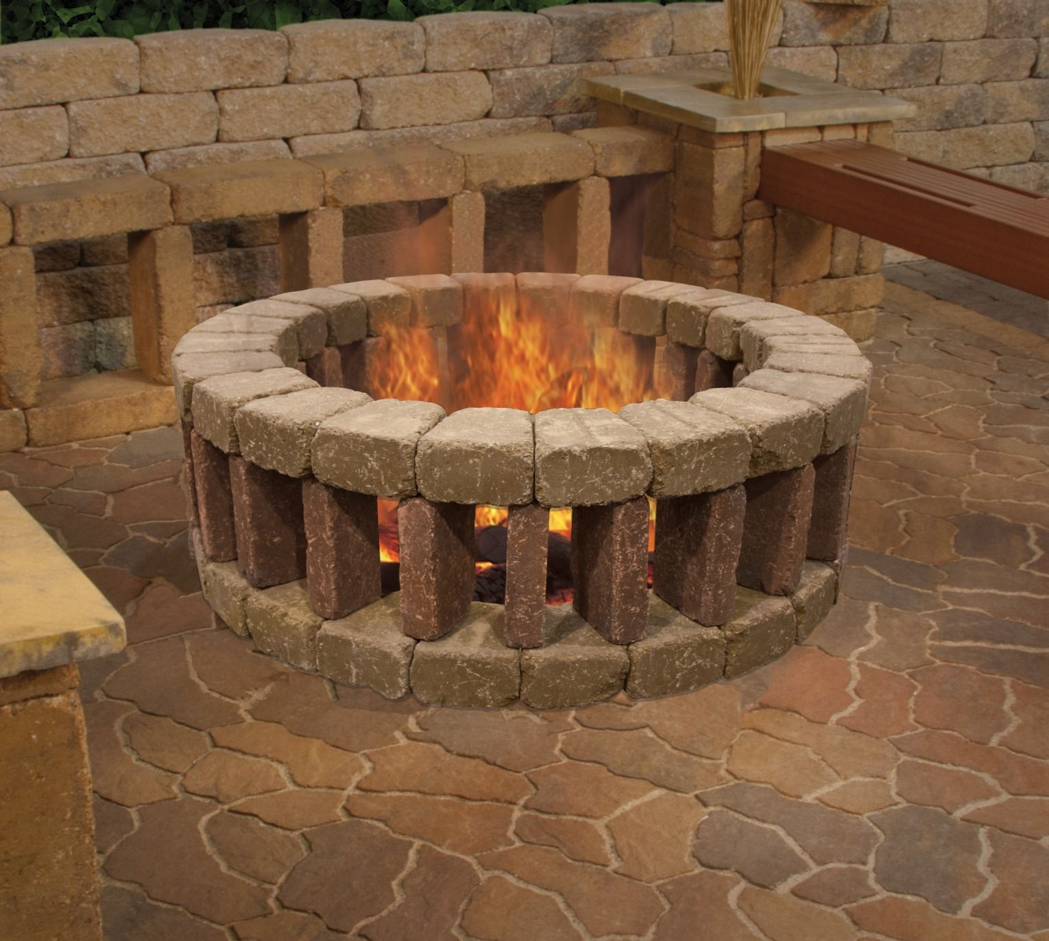 Enjoy Your Evenings Outside Lounging Around A Belgian Fire Ring with regard to measurements 1530 X 1373
