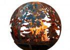 Esschert Design Wildlife 32 In X 36 In Round Steel Wood Burning with regard to size 1000 X 1000