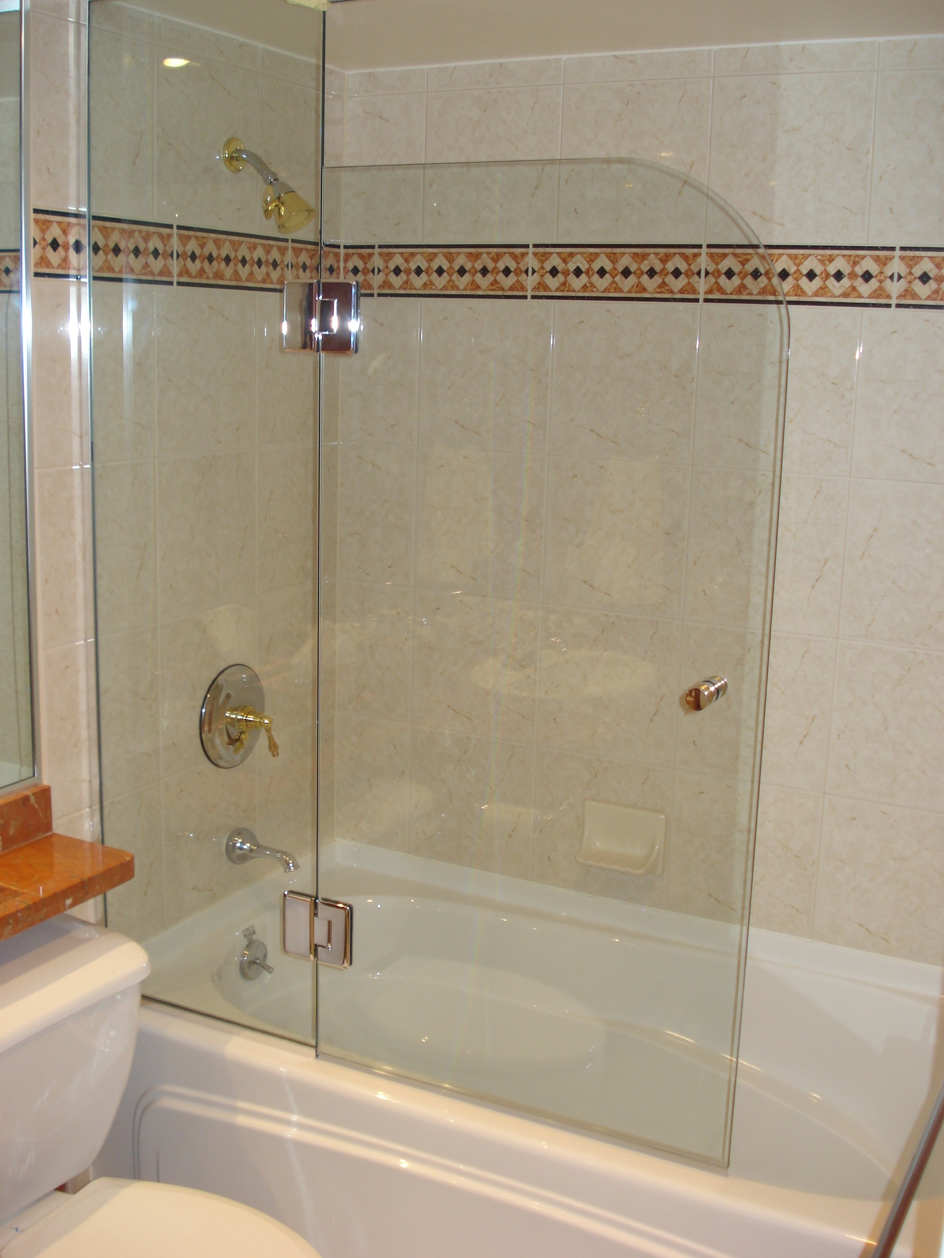 European Style Kristy Glass Frameless Shower Doors throughout dimensions 1944 X 2592