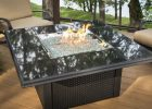 Exterior Electric Fires Black Marble Fire Pits Square Electric Top for proportions 1140 X 761