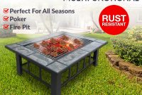 Extra Long 2 In 1 Multi Purpose Outdoor Fire Pit Bbq Table Grill with regard to dimensions 1200 X 1200