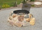 Field Stone Firepit Fire Pit Using Granite Boulders Built Into inside proportions 2272 X 1704