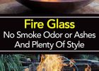 Fire Glass No Smoke Odor Or Ashes And Plenty Of Style with regard to proportions 735 X 1470