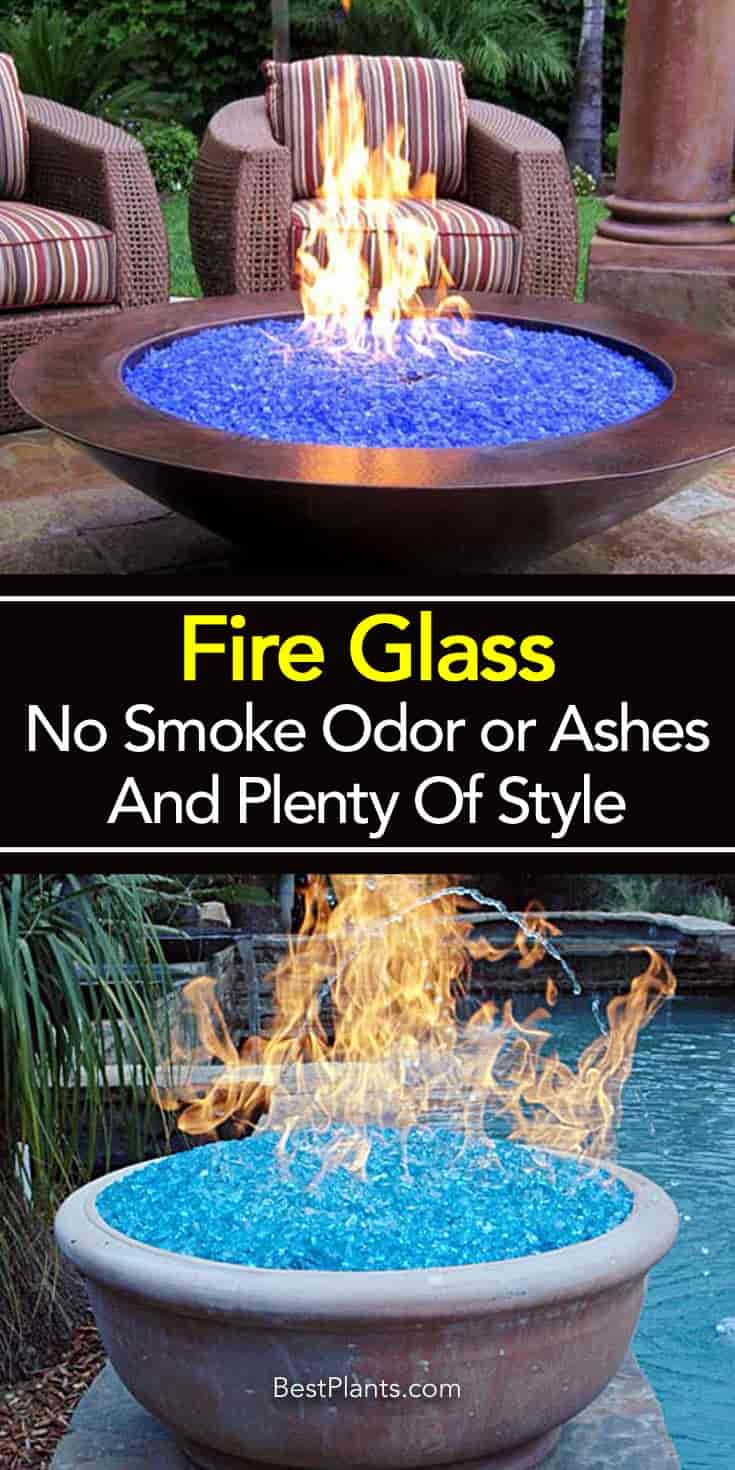 Fire Glass No Smoke Odor Or Ashes And Plenty Of Style with size 735 X 1470
