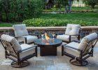 Fire Pit Chat Set 5 Piece Outdoor Chat Set Allbackyardfun throughout measurements 2000 X 1381