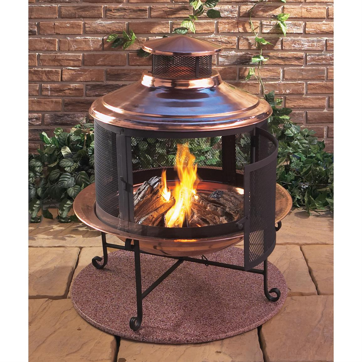 Fire Pit Chiminea The Latest Home Decor Ideas in measurements 1154 X 1154