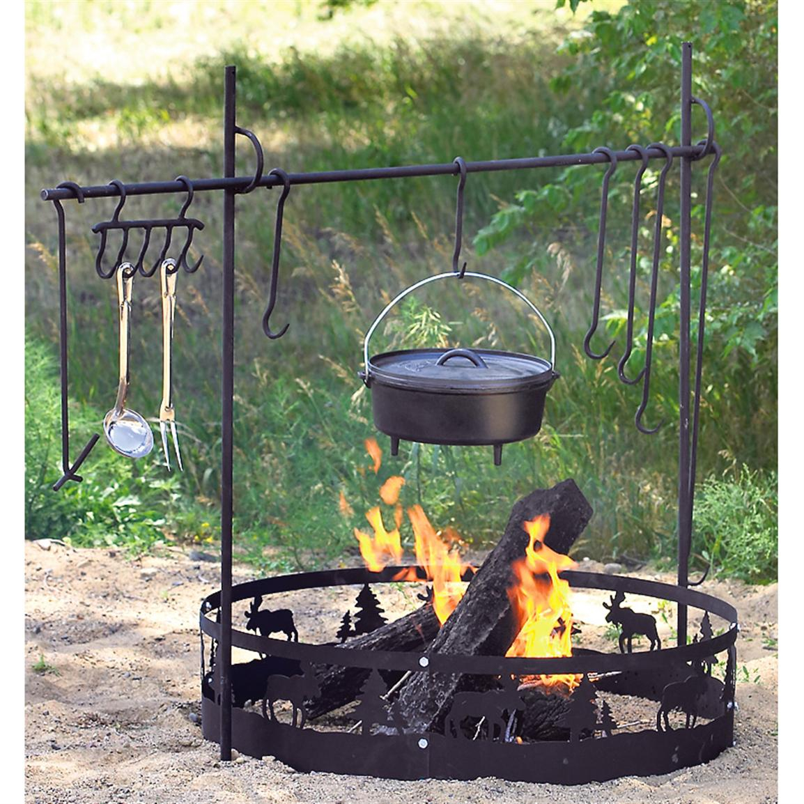 Fire Pit Cooking Tools Fireplace Design Ideas for size 1154 X 1154