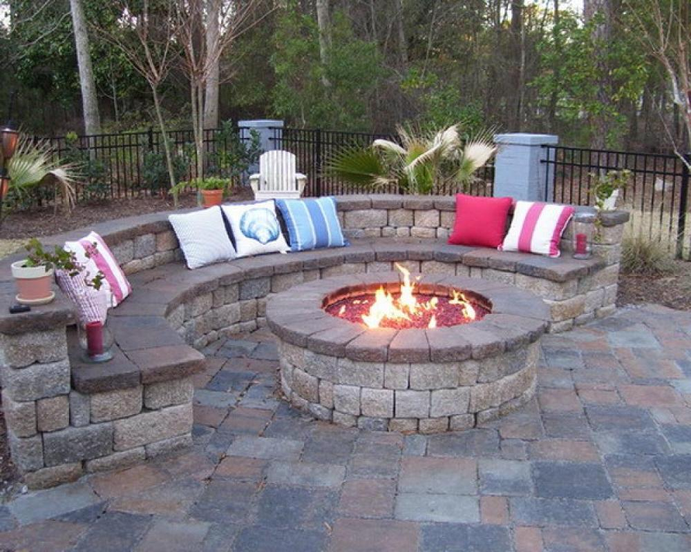 Fire Pit For Small Patio Fireplace Design Ideas for sizing 1000 X 800
