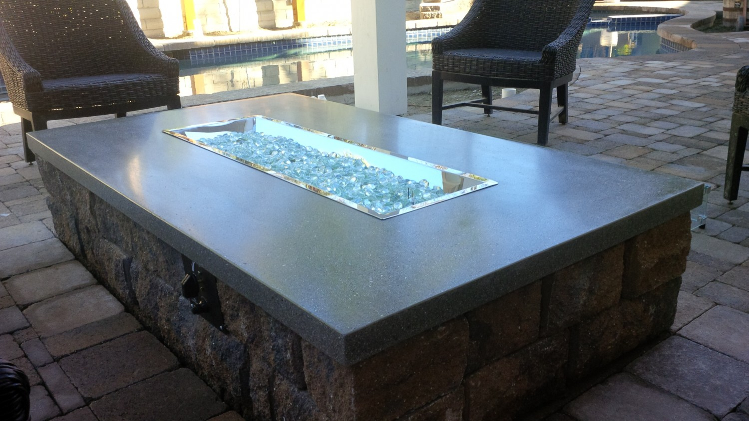 Fire Pit Glass Rock Fireplace Design Ideas throughout sizing 1500 X 844