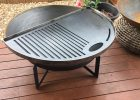 Fire Pit Grill Plate 900mm regarding proportions 1701 X 2268